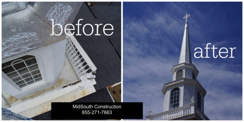 Church Steeple Repair