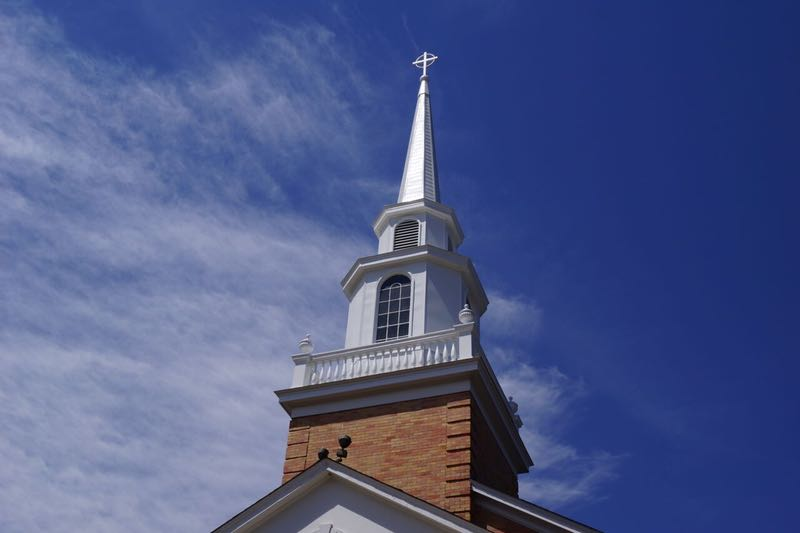 Church Steeple, Commercial Roofing Contractor