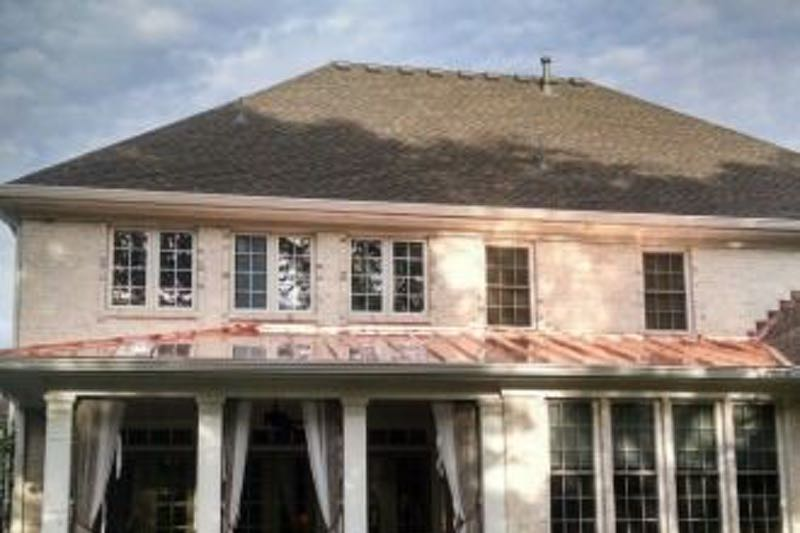 Standing seam copper roofing contractor