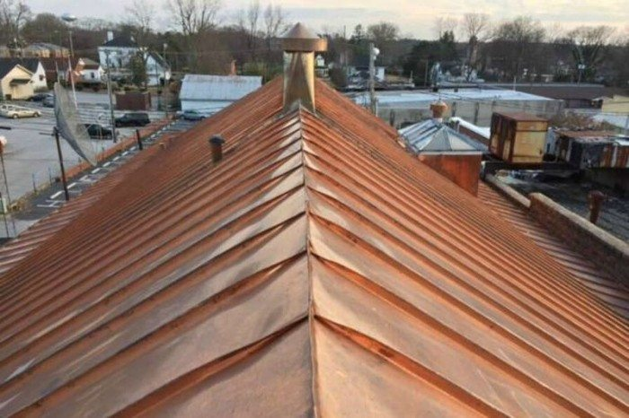 Copper roofing company