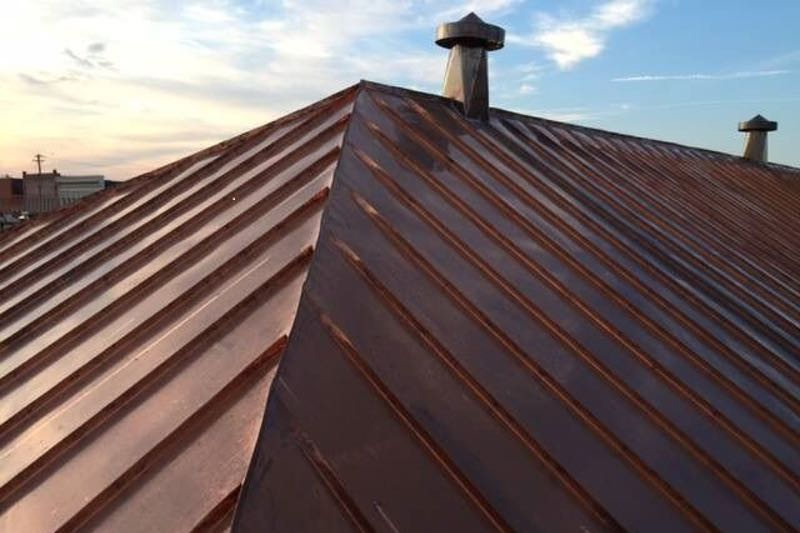 copper roofing specialists