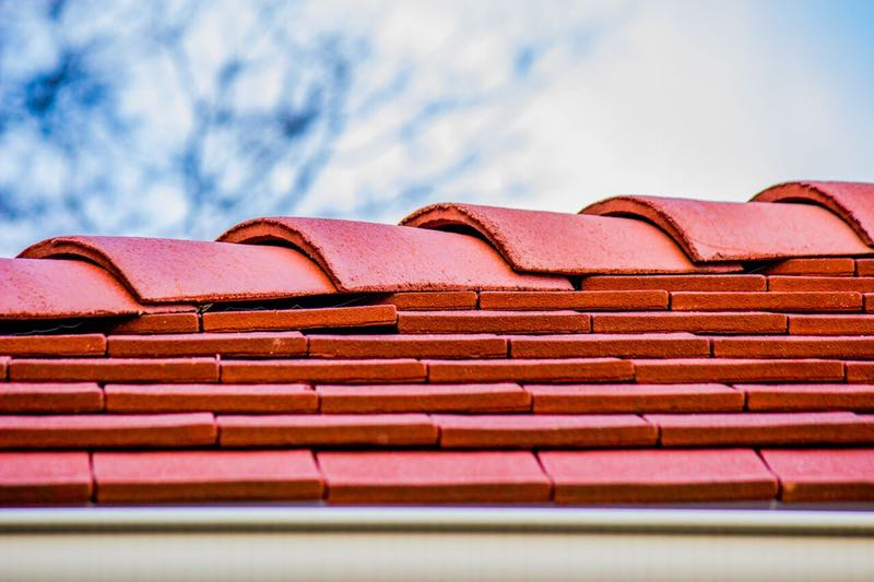 Tile Roofing installed by MidSouth Construction