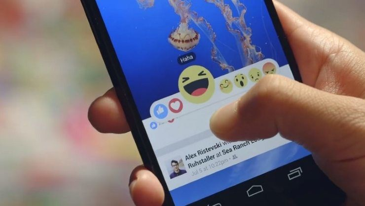 Facebook Interactive Reactions