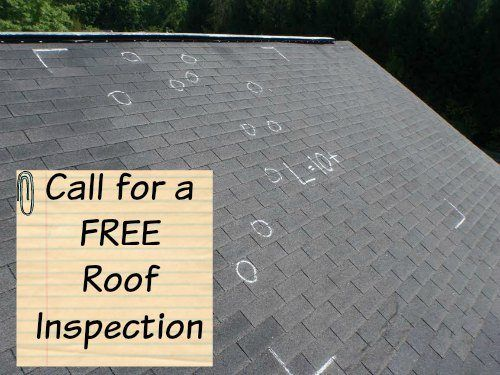 Roofing Contractor Roof inspection