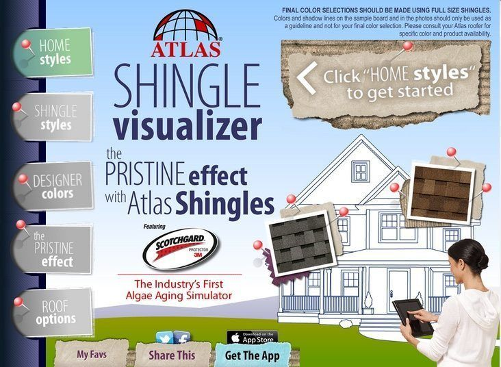 SHINGLE VISUALIZER BY ATLAS ROOFING