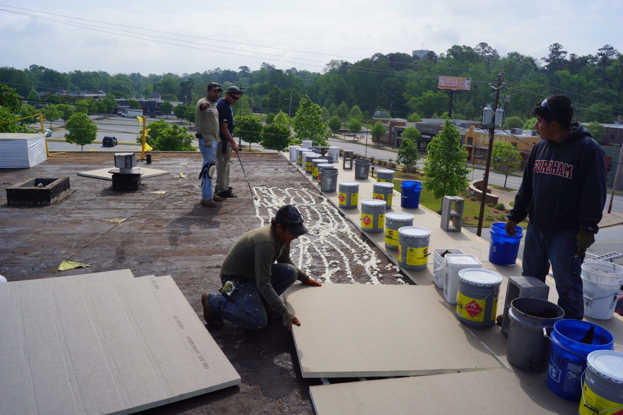 Commercial Roofing | Don't Be First