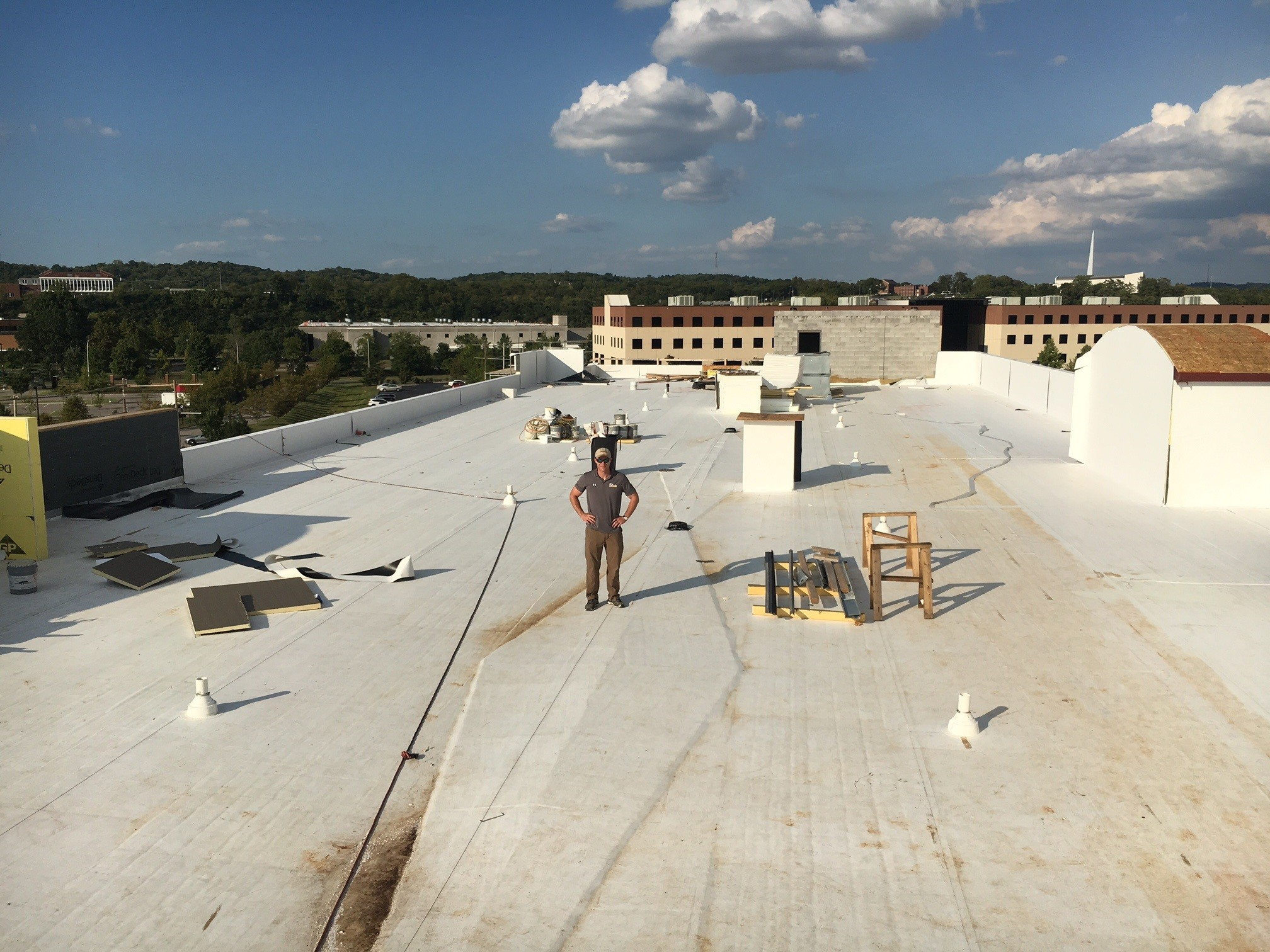 Nashville Commercial Roofs Repairs Replacement