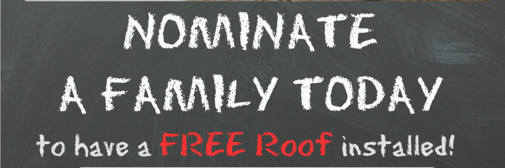 Nashville Roofing Contractors Free Roof Give Away