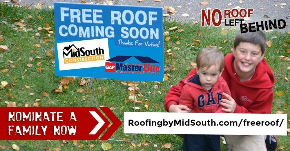 FREE ROOF Nominations Open