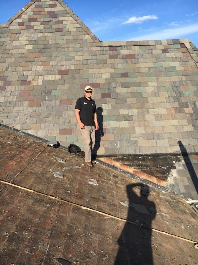 Nashville Roofer Slate Roof Repair