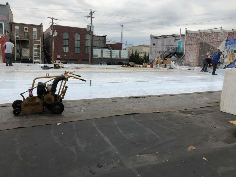 EPDM to TPO Commercial Roof Replacement