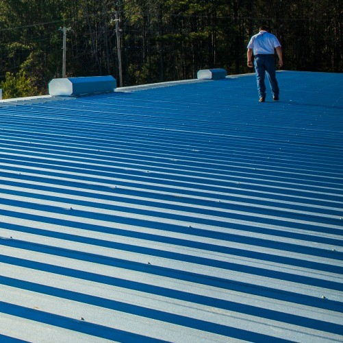 Metal Roofing Commercial Roof