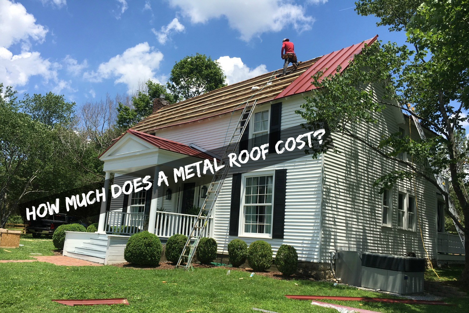 What is the cost for a metal roof in Nashville, TN