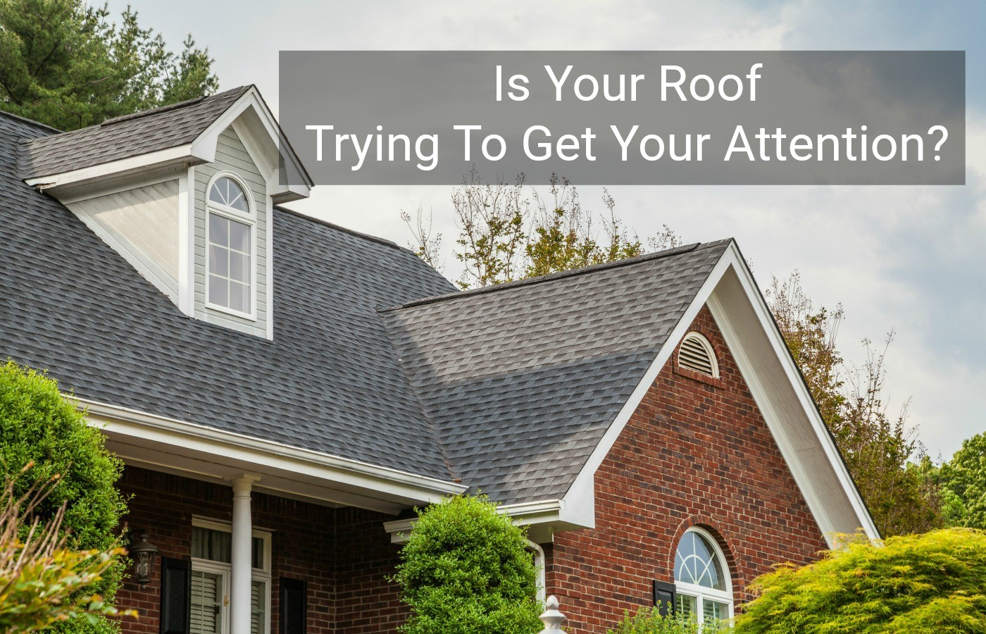 Is Your Roof Trying To Get Your Attention